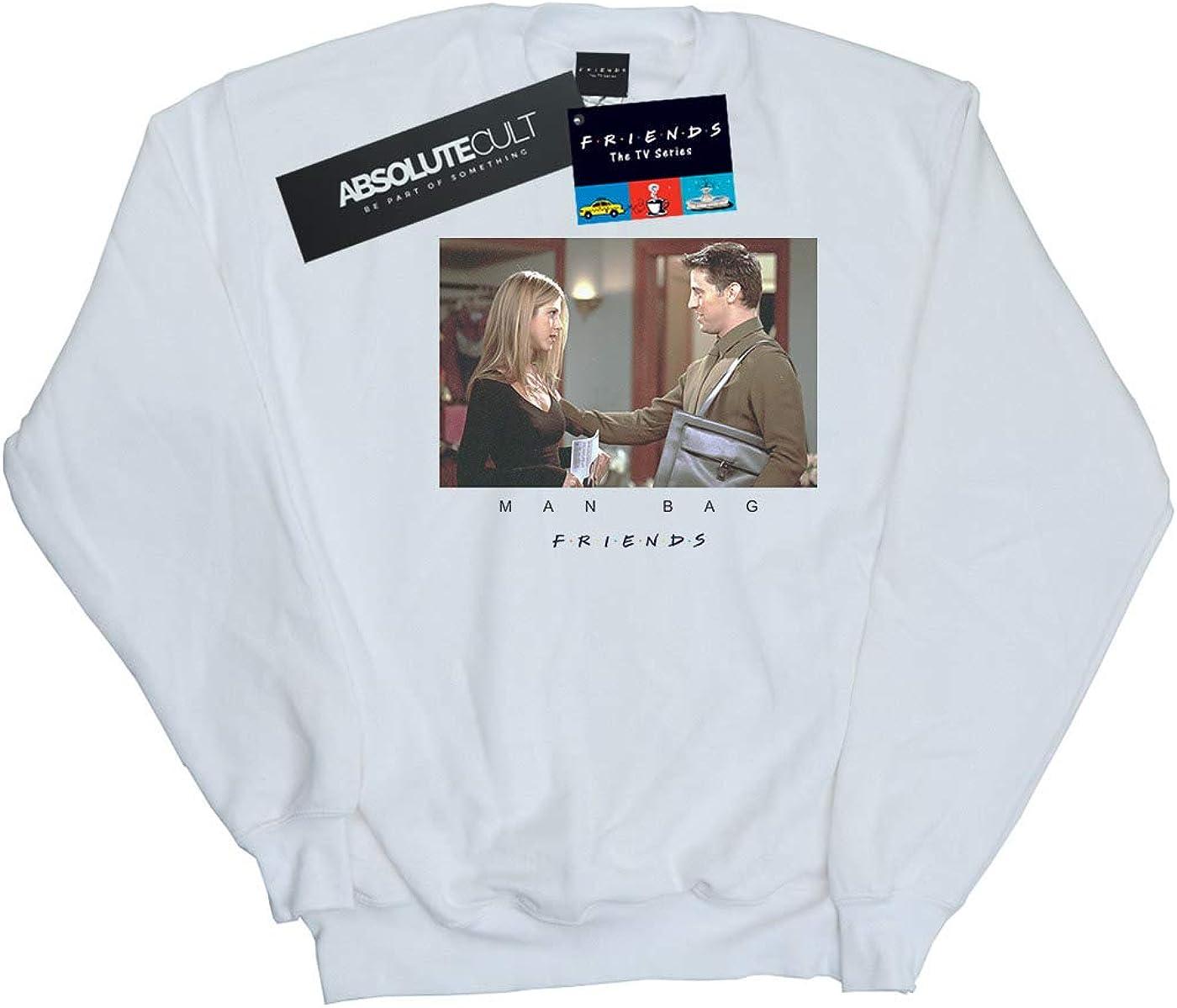 Absolute Cult Friends Girls Man Bag Sweatshirt