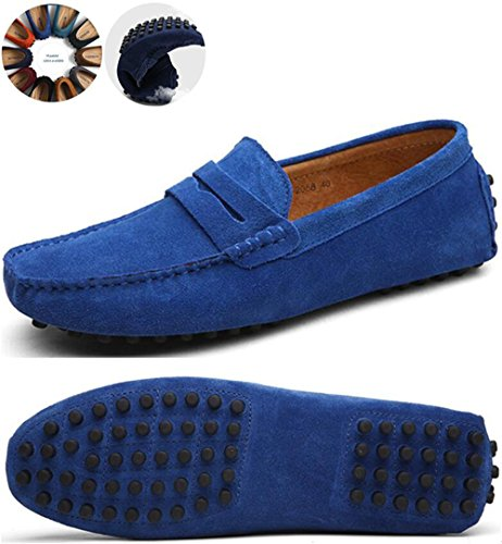 Men's Classy Fashion Slip On Go Tour Penny Loafers Casual...