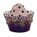 Tinksky Cupcake Wrappers Cupcake Cases Cupcake Holders Muffin Cups , 50 Pack
