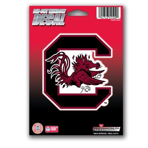 NCAA South Carolina Fighting Gamecocks Die Cut Vinyl Decal with (South Carolina Gamecocks Vinyl)