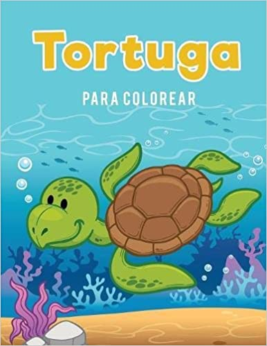 Tortuga Para Colorear Spanish Edition Coloring Pages For Kids