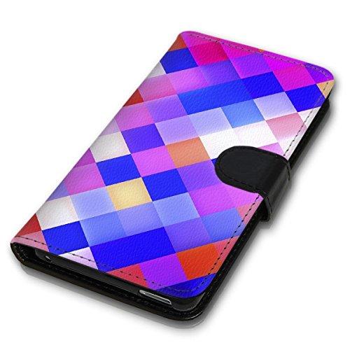Wallet Book Style Flip Handy Tasche Case Schutz Hülle Schale Motiv Etui für Apple iPhone 6 Plus / 6S Plus - Design Flip MV107