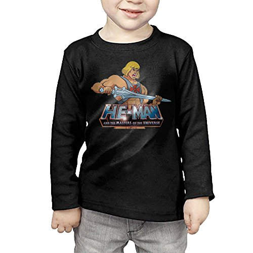 Cartoon Film He-Man Children's Pullover Long Sleeve T Shirt 4 Toddler