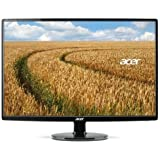 "Acer S271HL DBID 27"" IPS LED Full HD Monitor Thin Design- Black"