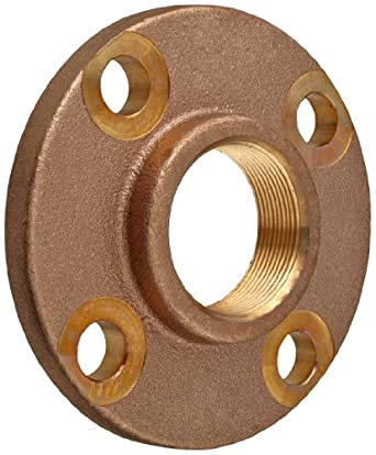 Lead Free Brass Pipe Fitting Threaded Companion Flange