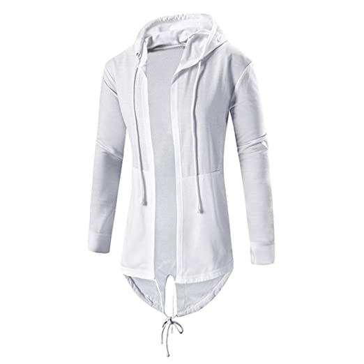 4 opinioni per Vendita CALDA! Koly_Uomini Autunno Inverno Media Cardigan con cappuccio mantello