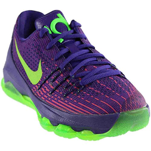 best service 8d28b bed97 NIKE Youth Kevin Durant KD 8 Boys Basketball Shoes Court Purple/Green  Strike 768867-535 Size 6