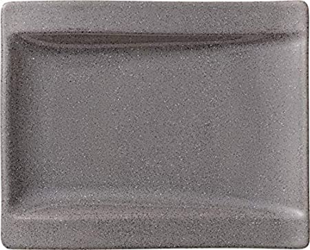 Villeroy & Boch NewWave Stone Gourmetteller, 33 x 24 cm, Premium Porzellan, Grau 1041987496