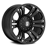 xd wheels 18 - XD Series by KMC Wheels XD778 Monster Matte Black Wheel (18x9/5x127, 135mm, 12mm offset)