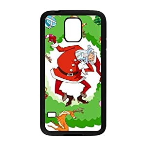 The Colorful Gift From Santa Hight Quality Plastic Case for Samsung Galaxy S5 hjbrhga1544