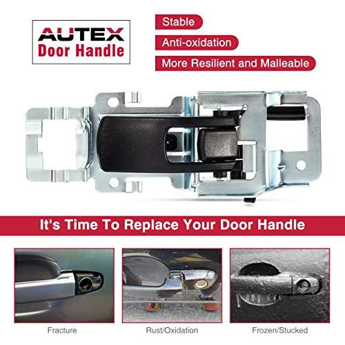 Inside Door Handle Driver Replacement for 05-09 Chevrolet Equinox 06-09 Pontiac Torrent 25897973