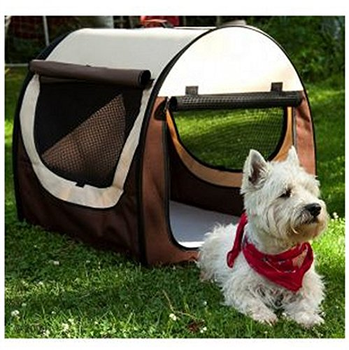 Folding Transport Box For Cats & Dogs  This Foldable Travel Crate Is Perfect For Your Pet