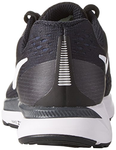 Nike Wmns Air Zoom Pegasus 34, Chaussures de Running Femme Noir (Blackwhitedark Greyanthracite 001)