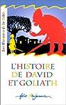 L'histoire de david et goliath par Vallon