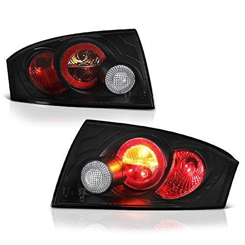 - VIPMOTOZ For 2000-2006 Audi TT Black Bezel Euro Style Altezza Tail Light Housing Lamp Assembly Replacement Driver and Passenger Side