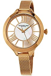 Stuhrling Original Women's Mesh Bracelet Watch