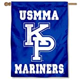 USMMA Mariners Kings Point Double Sided House Flag