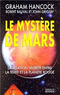 Le Mystère de Mars par Graham Hancock