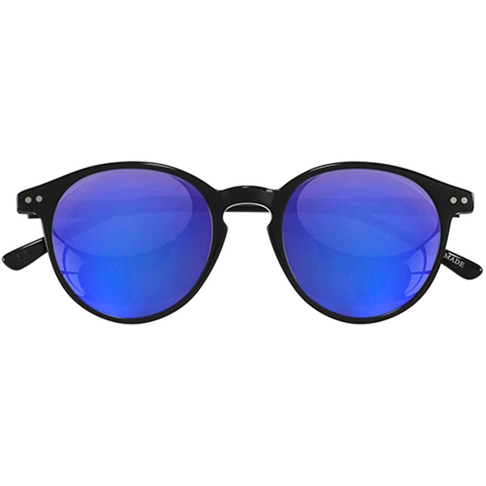 Sunglasses Epos Castore 2 N black Blu Mirrored Lenses 48 22 145 new