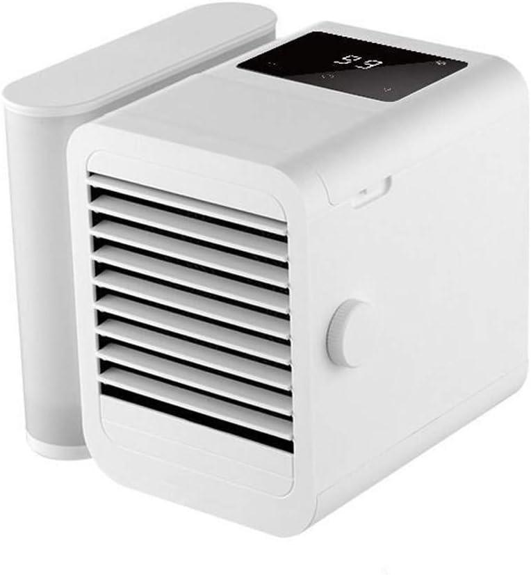 MAOMAOQUEENss Ventilador Refrescante, 3-en-1: Enfría Ventila ...