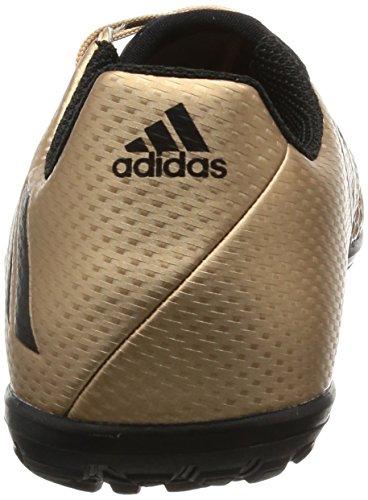 adidas Kinder Fussballschuhe MESSI 16.3 TF J COPPMT/CBLACK/SGREEN 36 2/3