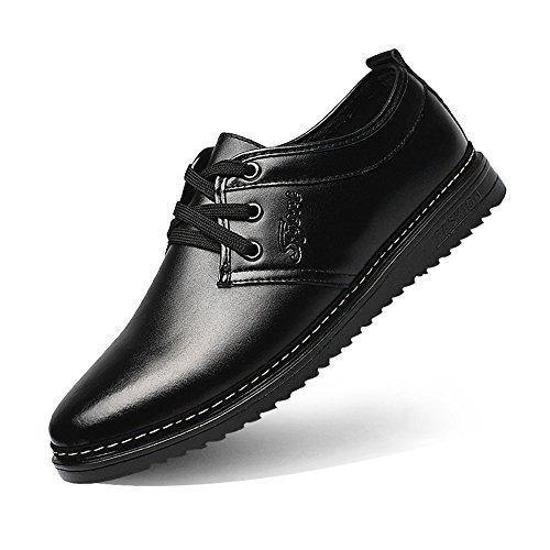 Matte Warm Scarpe Upper con Colore 2018 Warm Leather Black 44 PU Lace stringate EU Up da lavoro da caldo opzionale fodera traspirante shoes Fodere Xujw dimensione Scarpe uomo basse Brown formali 6qPPwX