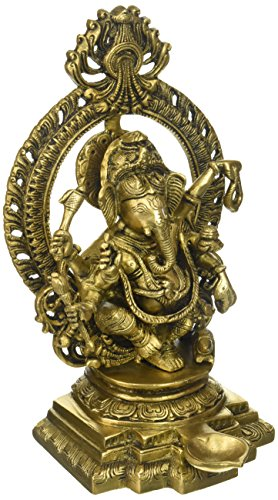 Indian Shelf Ganesh Statue Ganesha Hindu Elephant God of Success - Remover of Obstacles 11
