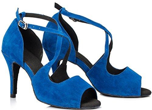 Salabobo de Bleu femme Salle bal pwr1qp84x