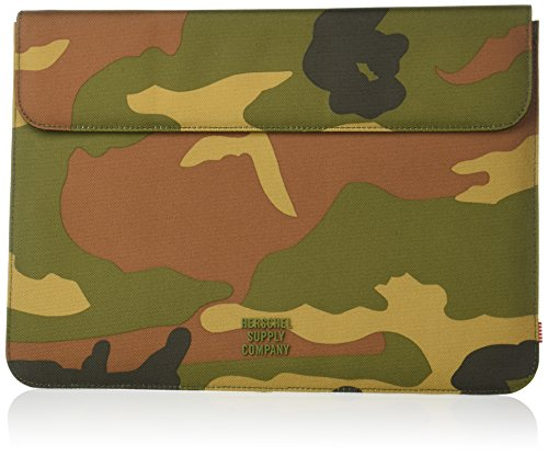 Herschel Supply Co. Unisex-Adult's Spokane New 13 inch MacBook Sleeve, woodland camo, One Size