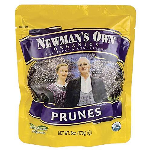Newman's Own Organics California Prunes Pouches - 6 oz.