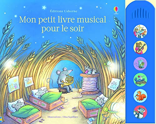 Mon Petit Livre Musical Pour Le Soir Fiona Watt