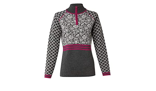 49d98e5f194 Krimson Klover Flurry 1 4 Zip Merino Pullover at Amazon Women s Clothing  store
