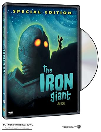 Amazon Com The Iron Giant Special Edition Eli Marienthal Harry Connick Jr Jennifer Aniston Brad Bird Movies Tv