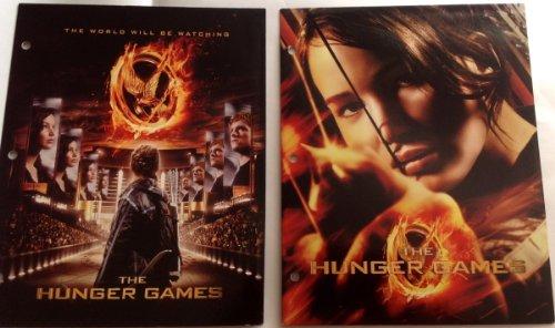 1 X Hunger Games - Two Pack of Folders - (2 Folder Games)