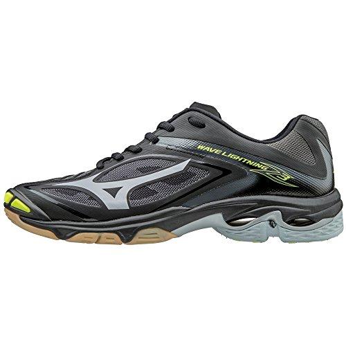 97447513af Mizuno Wave Lightning Z3 Men's Volleyball Shoes - Black & Silver (Men's  Size 7)