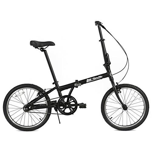 """FabricBike Folding Bicicleta Plegable Cuadro Aluminio Ruedas 20"""" 3 Colores a buen precio"""