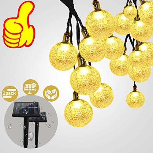 Solar String Lights Outdoor String Lights, 30 LED String Lig