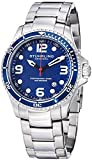 "Stuhrling Original Mens ""Specialty Grand Regatta"" Stainless Steel Professional Swiss Quartz Dive Watch with Date"