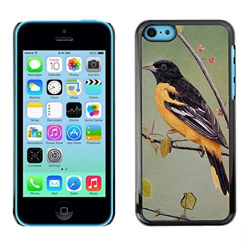 Premio Sottile Slim Cassa Custodia Case Cover Shell // F00010343 oiseau // Apple iPhone 5C