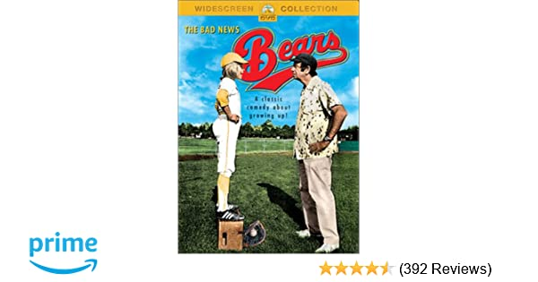 Amazoncom The Bad News Bears Walter Matthau Tatum Oneal Vic
