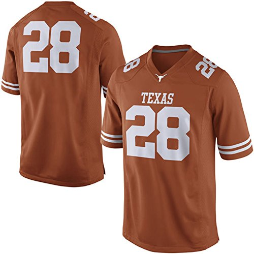 check out 97f42 e774c high-quality NCAA Mens Texas Longhorns #28 Practice College ...