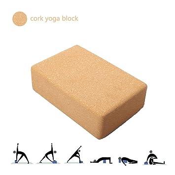 Bloque de Yoga Corcho,1 Pieza o 2 Piezas Profesión Alta ...