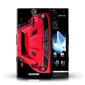 STUFF4 Phone Case / Cover for Sony Xperia S/LT26i / 458/Red Design / Ferrari Collection