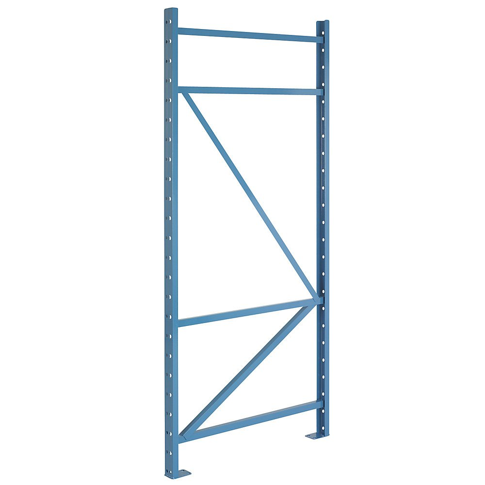 Steel King Upright Frame For Structural Pallet Racks - 48X192'' - 51,500-Lb. Capacity