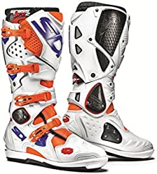 Sidi Crossfire 2 SRS White/Orange blue/orange white blue, Size: 47