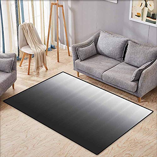 Outdoor Patio Rug,Home Decorations Art,Ombre Colorful Design,Anti-Slip Doormat Footpad Machine Washable,4'7