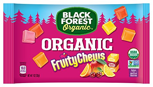 Black Forest Organic Candy, Fruity Chews, 11 Ounce