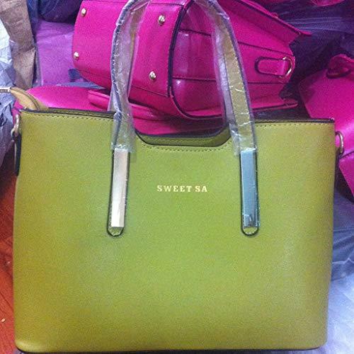 spalla Portable Borsetta One ff Pacchetto Pu Stand pink Lff Oblique Green qf61ERwx