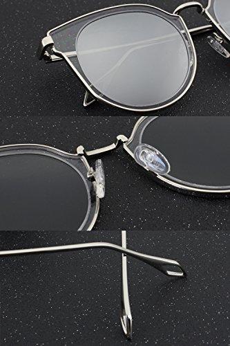 Cercle Mode CGID de MJ86 soleil UV400 Miroir Or Double Lentille Lunettes Femme Polarisées Or wqqZr5vI