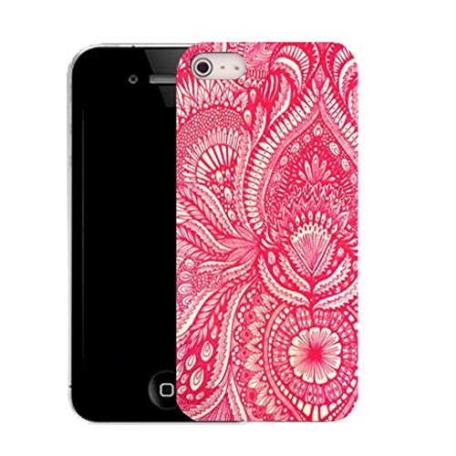 Mobile Case Mate IPhone 4s clip on Silicone Coque couverture case cover Pare-chocs + STYLET - xpensive pattern (SILICON)